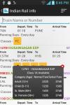 Live Indian Rail - PNR Status screenshot 6/6