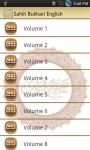 Sahih Bukhari English Sharpsol screenshot 1/6