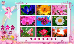 Puzzles for Girls: flowers screenshot 2/6