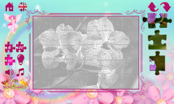 Puzzles for Girls: flowers screenshot 5/6