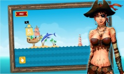 Caribbean Sea Pirates - A revenge battle for gold  screenshot 4/5
