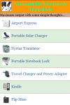 Accessories For Savvy Travelers screenshot 2/3