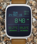 LED Watchface with Weather opened screenshot 2/6
