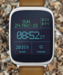 LED Watchface with Weather opened screenshot 4/6