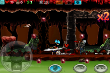 Ghost Ninja: Zombie Beatdown screenshot 3/5