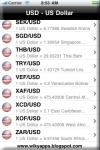 US Dollar Exchange Rate screenshot 1/1