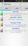 WIFI Scan for Android screenshot 1/6