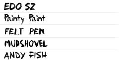 ★ Brush for FlipFont® free screenshot 1/1