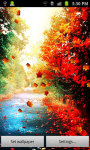 Touch Autumn Leaves Live Wallpaper screenshot 2/4