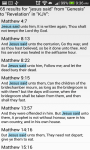HOLY BIBLE-KJV  screenshot 3/3
