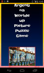 Argentina Worldcup Picture Puzzle screenshot 1/6