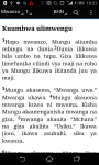 Swahili Bible - Biblia screenshot 3/3