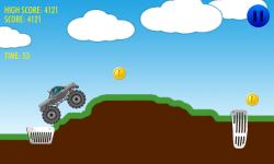 Hill Climb Racing 2D screenshot 3/4