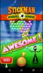 Stickman Football Bubble Shooter screenshot 1/6