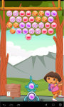 Dora Bubble Freeze screenshot 2/6