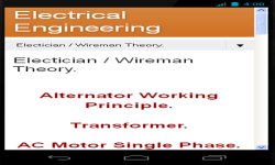 Electricals Theory screenshot 1/6