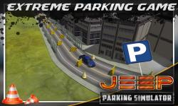 Jeep Parking Simulator 3D screenshot 3/5