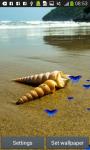 Seashells Live Wallpapers screenshot 1/6