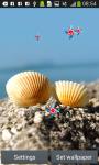 Seashells Live Wallpapers screenshot 3/6
