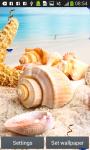 Seashells Live Wallpapers screenshot 4/6