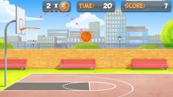 Free Throw Basketball screenshot 1/4