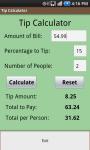 Tip It Tip Calculator screenshot 1/2