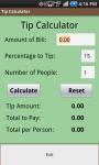 Tip It Tip Calculator screenshot 2/2