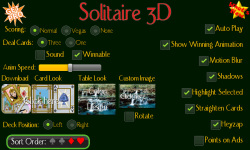 Solitaire 3D screenshot 2/5