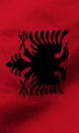 Albania flag live wallpaper Free screenshot 3/5