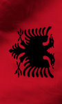 Albania flag live wallpaper Free screenshot 5/5
