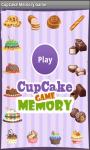 CupCake Memory Game screenshot 1/4