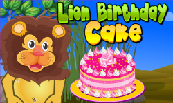 Lion Birthday Cooking Game screenshot 1/4