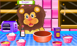 Lion Birthday Cooking Game screenshot 2/4