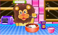 Lion Birthday Cooking Game screenshot 3/4