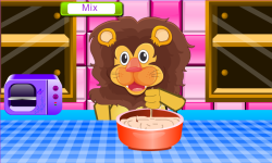 Lion Birthday Cooking Game screenshot 4/4