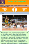 Rules of Volleyball screenshot 3/3