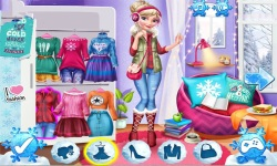 Elsa And Anna Winter Trends screenshot 3/4