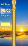 Sunrise Zipper Lock Screen Best screenshot 5/6