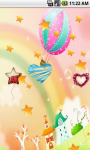 Cute Cartoon Rainbow Live Wallpaper screenshot 3/5