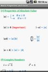 Algebra Cheat Sheet screenshot 2/5