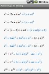 Algebra Cheat Sheet screenshot 3/5