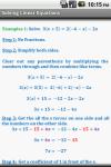 Algebra Cheat Sheet screenshot 4/5