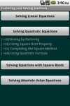 Algebra Cheat Sheet screenshot 5/5