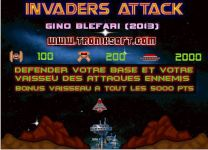 Invaders Attack screenshot 1/2