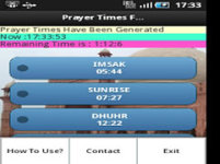 Pray Alert Times screenshot 4/6