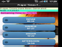 Pray Alert Times screenshot 5/6