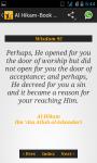 Al Hikam - The Book of Wisdom screenshot 4/4