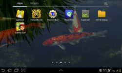 Real Koi Live Wallpaper screenshot 4/4