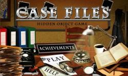 Free Hidden Object Games - Case Files screenshot 1/4