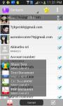 Contacts to PDF screenshot 1/6